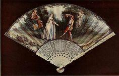 Vintage Fan: French - La Danse, after Lancret by CharmaineZoe, via Flickr