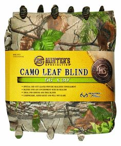 b9ef17c207890 Hunter's Specialties 30 ft. Realtree Xtra Green Camo Leaf Blind Material  https://