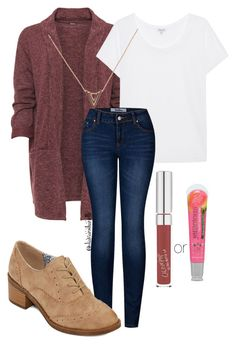 """""""Interview Outfit for a Teen"""" by diavianshanelle ❤ liked on Polyvore featuring WearAll, Splendid, 2LUV, POP, Forever 21, cute, casual, interview, fabulous and plus size clothing"""