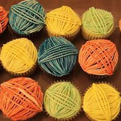 Ok not really stuff I want to knit but these would be fun to make for a yarn party :)