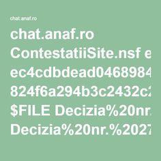 chat.anaf.ro ContestatiiSite.nsf ec4cdbdead046898422570de003c294f 824f6a294b3c2432c2257acb003897d9 $FILE Decizia%20nr.%20273-2012.pdf