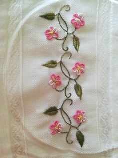Hand Embroidery Stitches Bullion Embroidery Hand Embroidery Projects Embroidery For Beginners Hand Quilting Embroidery Dress Embroidery Techniques Ribbon Embroidery Handkerchief Embroidery Handkerchief Embroidery, Bullion Embroidery, Embroidery Flowers Pattern, Simple Embroidery, Hand Embroidery Stitches, Silk Ribbon Embroidery, Border Embroidery Designs, Machine Embroidery Designs, Hand Embroidery Projects