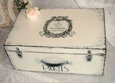 Корзины, коробы ручной работы. Ярмарка Мастеров - ручная работа Винтажный чемодан. Handmade.
