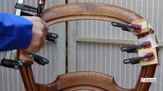 Comment recoller un  dossier de chaise cassé