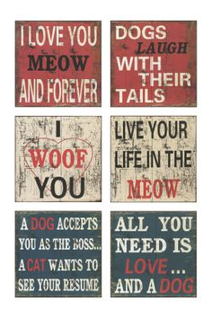 Dogs Wall Decor