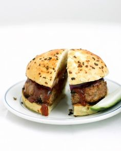 """See the """"Barbecue Pork Burgers"""" in our Quick Pork Recipes gallery"""