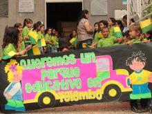 Con parques convertidos en aulas, Antioquia busca ser la más educada
