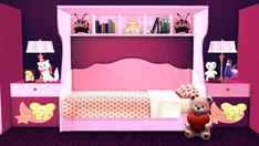 Sanjana Sims: City girl kidsroom • Sims 4 Downloads