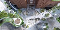Galería - BIG revela diseño para la plaza de Battersea PowerGalería - BIG revela diseño para la plaza de Battersea Power Station - 1