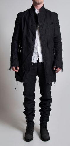 Visions of the Future // Elena Dawson Linen Suti & Cotton Shirt (Men)