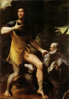 Girolamo Francesco Maria Mazzola, detto il Parmigianino, è stato un pittore italiano, fondamentale esponente della corrente manierista e della pittura emiliana in generale. Il soprannome, oltre che dalle origini, gli derivò dalla corporatura minuta e l'aspetto gentile.