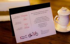 O tema do convite também foi idealizado pelos noivos. Foto: DG Imagem Fotografia