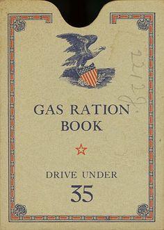 Ration book for gasoline