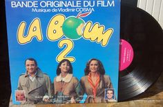 vinyl 33t B.O LA BOUM 2 BON ETAT GENERAL CARRERECA681 67953
