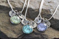 3 best friend necklaces 3  friendship necklace personalized