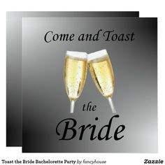 Toast the Bride Bach