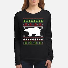 """100% Printed in the U.S.A - Ship Worldwide  HOW TO ORDER?  1. Select style and color 2. Select size and quantity 3. Click to """"Buy Now"""" button 4. Enter shipping and billing information TIP: SHARE it with your friends, order together and save on shipping. Funny Christmas Shirts, Christmas Sweaters, Funny Wolf, Color 2, Graphic Sweatshirt, T Shirt, 2 Colours, Buy Now, Ship"""