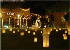 Decoração romàntica e sufisticada - Velas/luminárias : fóruns | O Nosso Casamento