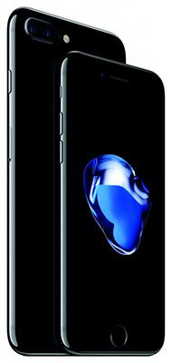 Apple iPhone 7 Plus Touch ID fingerprint with IOS 10 smartphone. Iphone 7 Plus, Iphone 8, Apple Iphone, Black Iphone 7, Ipad, Macbook, Apple Launch, Accessoires Iphone, Cool Tech