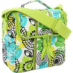 New Vera Bradley camera bag in Lime's Up. Saw in the store. Wonder if it's big enough and if I'd tire of the pattern. Still, very cute.