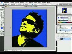 Tutorial Photoshop - Efecto Andy Warhol