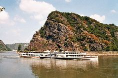The Lorelei Rock seen from St.Goar