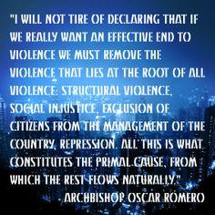 Christian Quote - Oscar Romero