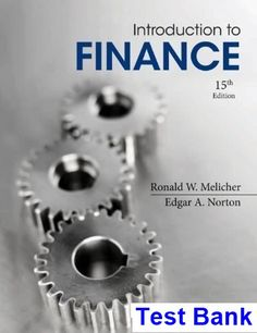 Textbook solutions manual for case studies in finance 6th edition introduction to finance markets investments and financial management 15th edition melicher test bank test bank fandeluxe Images