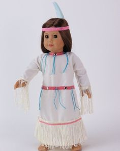 Check out this item in my Etsy shop https://www.etsy.com/listing/257425378/american-girl-or-any-18-doll-outfit