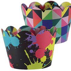 80s Geometric Cupcake Wrappers, Art Theme Decorations, Co... https://www.amazon.com/dp/B01IBZ9HFE/ref=cm_sw_r_pi_dp_S9tIxbRX47YSA