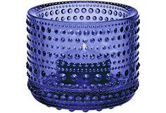 Iittala Kastehelmi kynttilälyhty 64 mm, ultramariini - Prisma verkkokauppa