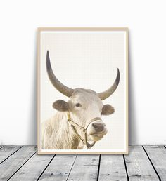 Bull Print, Animal Wall Art, Cow Photo, Cow Photography, Farm Animal Print, Farm Nursery Art, Nursery Cow, Cow Art, Animal Photography, Cow Print, Nursery Wall Art, Rustic Art Print, 8x10. MotivatedWallArt offers prints on a variety of themes, which gives a modern look to your home. This image is printed on 260 GSM quality photo paper with a glossy finish, and mailed in cardboard mailer envelope. The size is 8 x 10 inch and printed to the edge. Please note that frame is not included.
