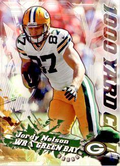 2014 Topps 1000 Yard Club #14 Jordy Nelson Team: Green Bay Packers