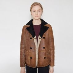MARNI -Shearling Jacket -THE SHAPE OF THE SEASON