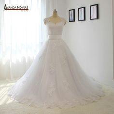 Aliexpress.com: Compre 2016 mais novo modelo vestido de noiva estilo dois em um destacável de confiança citações de casamento fornecedores em Amanda Novias Wedding Dress Factory