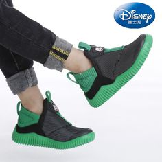 add42de0051 $31.03 Disney casual shoes boys breathable sneakers kids jongens schoenen  slip on tenis running shoes children anti-slippery sneakers