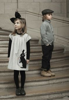 If My Future Children Have A Style, This is Creepily The Closest I Have Seen (Minus The Bow).