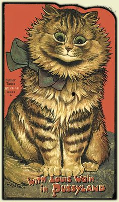"""""""With Luis Wain in Pussyland"""" - Louis Wain"""