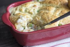 4-6 points per serving. I used biscuits on top and cream of celery soup in 9 x13 pan.