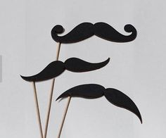 Photocall Accessories - Men's accessories: mustaches, hats, ties, bow ties, glasses ... Wedding decoration, party decoration