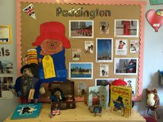 Paddington display board Classroom Board, Classroom Displays, Kindergarten Classroom, Classroom Ideas, English Classroom Decor, English Day, Gunpowder Plot, British Values, England Map