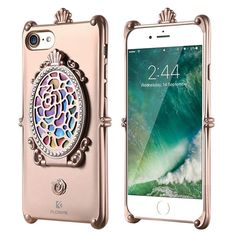Protect your iPhone while maintaining style and functionality is easy with the hidden mirror wallet phone case. This high-quality case is compiled with high-quality TPU material for optimal protection