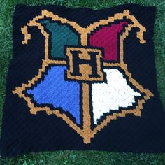 The Harry Potter Blanket - Part 1 - offthehookforyou