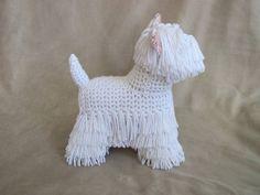 Westie PDF Crochet Pattern by ScareCrowOriginals on Etsy, $3.50