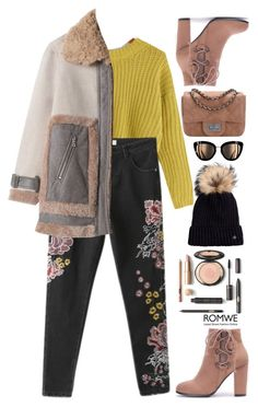 """""""Not the usual"""" by gabygirafe ❤ liked on Polyvore featuring Bogner, GetTheLook, romwe and women"""
