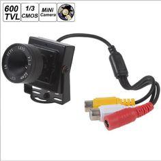 $25.80 (Buy here: https://alitems.com/g/1e8d114494ebda23ff8b16525dc3e8/?i=5&ulp=https%3A%2F%2Fwww.aliexpress.com%2Fitem%2F2016-New-Mini-600TVL-12mm-Lens-Surveillance-Cmos-Sensor-Cctv-Camera-Analog-Mini-Camera-For-Home%2F32721062564.html ) 2016 New Mini 600TVL 12mm Lens Surveillance Cmos Sensor Cctv Camera Analog Mini Camera For Home Security or Fpv Camera Module  for just $25.80
