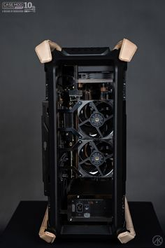 Click this image to show the full-size version. Computer Desk Setup, Computer Build, Computer Case, Gaming Setup, Gaming Pcs, Custom Pc, Gaming Accessories, Pc Cases, Gadgets