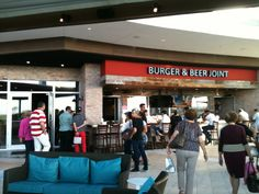 Our favorite spot for a good turkey burger. Burger & Beer Joint in San Juan, San Juan