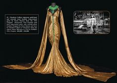 1934 Claudette Colbert costume from Cleopatra