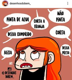 Dilemas do que fazer no cabelo Inspirational Quotes For Women, Motivational Quotes, Funny Quotes, Dilema, Woman Quotes, Women Empowerment, Comics, Comic Strips, Hair